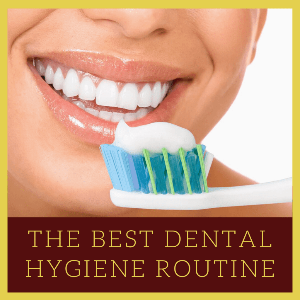 "Infograph for ""The Best Dental Hygiene Routine"""